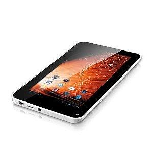 Tablet M7 Branco Android 4.1, 7 Polegadas, Wi-Fi, Processador 1.2Ghz, Entrada USB, 4GB Multilaser NB044