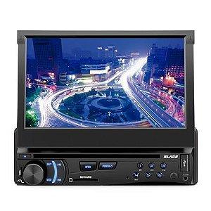 DVD Automotivo Blade com Entrada USB/SD/Auxiliar, Rádio FM Multilaser P3295