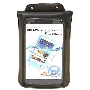 Capa aquática para Samsung Galaxy Note / S5 e iPhone 6/7 DiCAPac WP-C2 preta