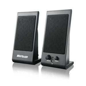 Caixa de Som Speaker Flat 3W RMS USB Multilaser SP009