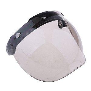Viseira Bubble Shield com flip-up - universal