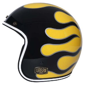 Capacete Urban Tracer Flames Mustard - tam. 60