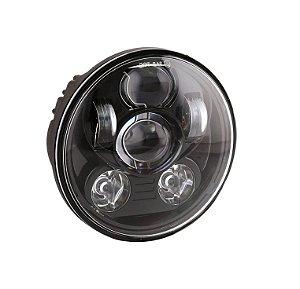 """Farol de LED 5.75"""" black"""