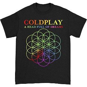 Camiseta Básica Banda Rock Coldplay