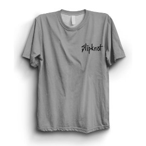 Camiseta Básica Banda Logo Peito SlipKnot