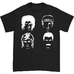 Camiseta Básica Banda Rock Queen Integrantes