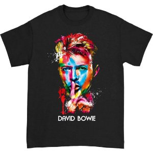 Camiseta Básica Arte David Bowie