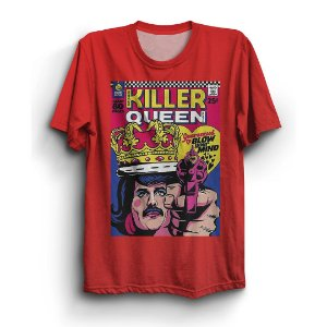 Camiseta Rock Killer Queen