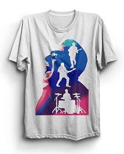 Camiseta Básica Banda U2 Integrantes