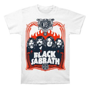 Camiseta Black Sabbath Integrantes
