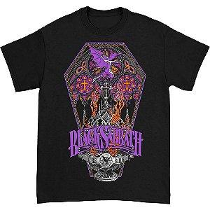 Camiseta Caixão Black Sabbath Banda Heavy Metal