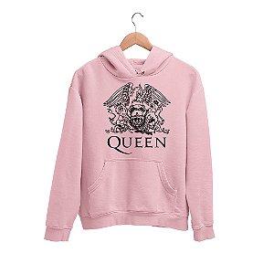 Moletom Canguru Banda Queen Logo Gavião