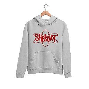 Moletom Canguru Desenho Logo Banda Slipknot