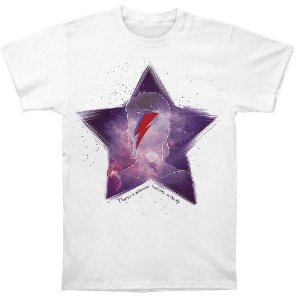Camiseta Básica Estrela Cantor David Bowie