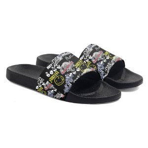 Chinelo Slide Logo Bandas de Rock