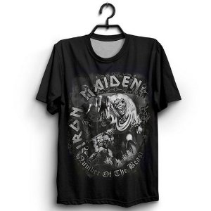 Camiseta 3D Full Banda Heavy Metal Iron Maiden