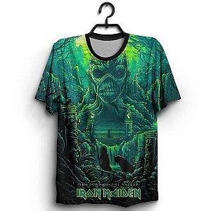 Camiseta 3D Full Banda Iron Maiden Shadows Of The Valley