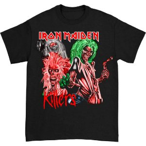 Camiseta Básica Killers Banda Heavy Metal Iron Maiden