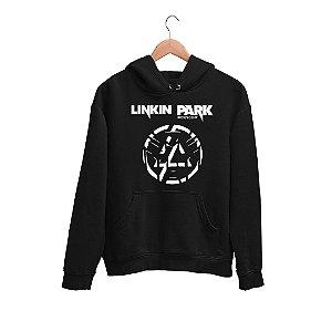 Moletom Canguru Logo Banda Rock Linkin Park