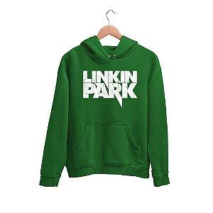 Moletom Canguru Logo Banda Linkin Park