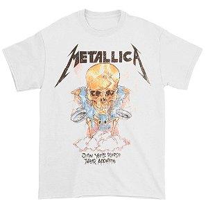 Camiseta Básica Banda Heavy Metal Metallica Their Appetite
