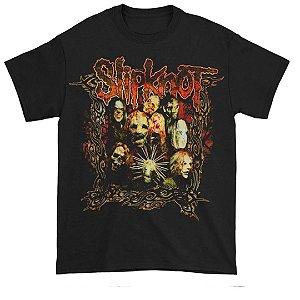 Camiseta Básica Banda Heavy Metal Slipknot The Blister