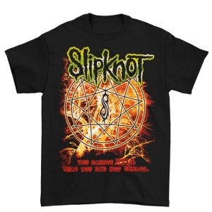Camiseta Básica Banda Heavy Metal Slipknot Electric