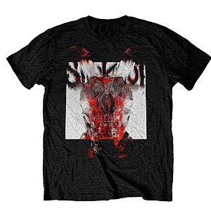 Camiseta Básica Banda Heavy Metal Slipknot Devil Single