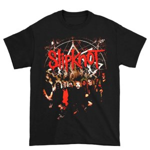 Camiseta Básica Banda Heavy Metal Slipknot Waves
