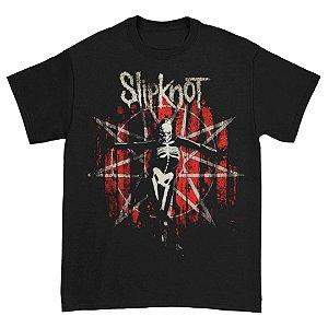 Camiseta Básica Banda Heavy Metal Slipknot The Gray Chapter Star
