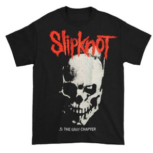 Camiseta Básica Banda Heavy Metal Slipknot Skull