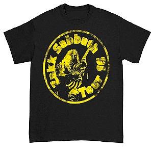 Camiseta Básica Banda Heavy Metal Black Sabbath Zakk Sabbath