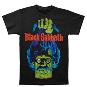 Camiseta Básica Banda Heavy Metal Black Sabbath