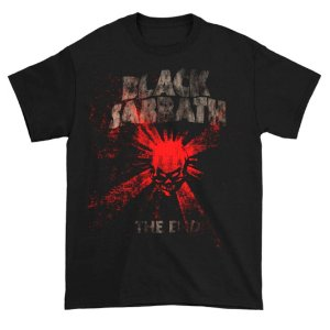 Camiseta Básica Banda Heavy Metal Black Sabbath The End Mushroom