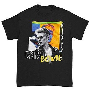 Camiseta Básica Cantor David Bowie ''Bowie Thriller''