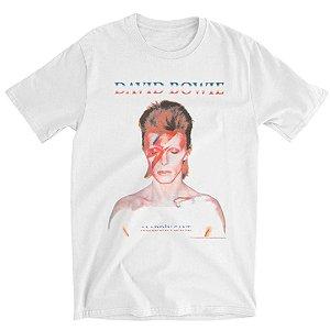 Camiseta Básica Cantor David Bowie Alladinsane