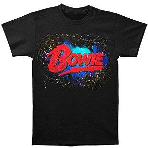 "Camiseta Básica Cantor David Bowie ""Bowie Logo"""