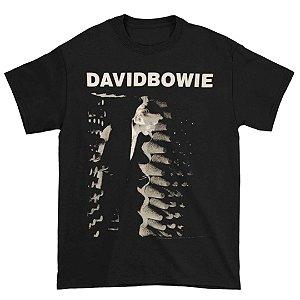 Camiseta Básica Cantor David Bowie Station To Station