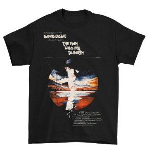 Camiseta Básica Cantor David Bowie Man Who Fell To Earth