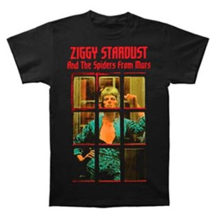 Camiseta Básica Cantor David Bowie Ziggy Phone