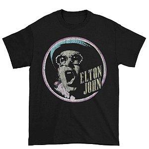 Camiseta Básica Cantor Elton John Homage 2