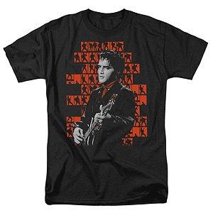 """Camiseta Básica Cantor Elvis Presley """"Elvis '68!"""""""