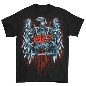 Camiseta Básica Banda Thrash Metal Slayer Blood