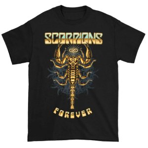 Camiseta Básica Banda Rock Scorpions Forever 2017 Tour