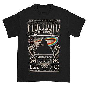 Camiseta Básica Banda Rock Pink Floyd Carniegie