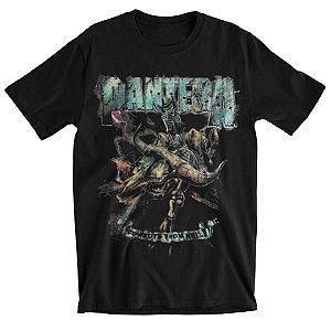 Camiseta Básica Banda Pantera Thrash Metal Vintage Rider