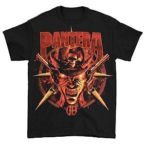 Camiseta Básica Banda Pantera Thrash Metal Cowboy From Hell