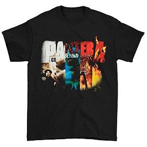 Camiseta Básica Banda Pantera Thrash Metal Collage