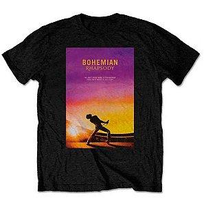 Camiseta Básica Banda Rock Queen Bohemian Rhapsody