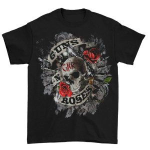 Camiseta Básica Banda Rock Guns N' Roses Firepower